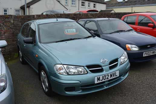 Nissan Almera 1.4 Brookside Garage
